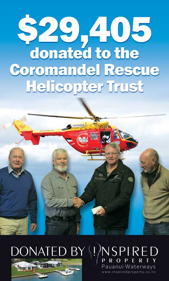 Donation to Rescue Helicopter