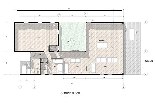 Inspired Property: Villa del Agua, Pauanui: 4 bedroom ground floor plan