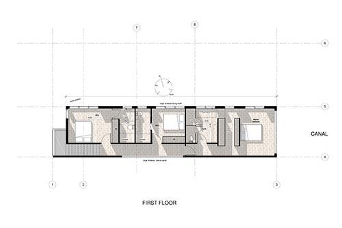 Inspired Property: Villa del Agua, Pauanui: 4 bedroom first floor plan