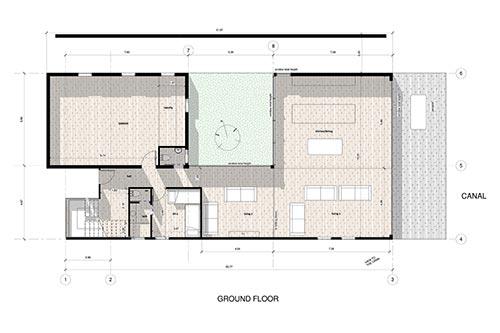 Inspired Property: Villa del Agua, Pauanui: 3 bedroom ground floor plan